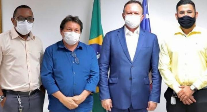 Zeca Medeiros reúne com vice-governador do Maranhão