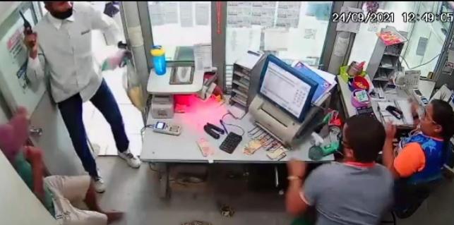 Casa lotérica é alvo de assalto em São Luís